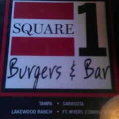 Photo taken at Square 1 Burgers & Bar by Ralph H. on 11/30/2011