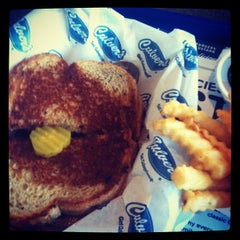 Photo taken at Culver's by Jake S. on 10/14/2011