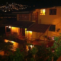 Photo taken at Amaru Hostal by Dani R. on 1/10/2012