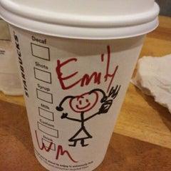 Photo taken at Starbucks by Emily R. on 10/29/2011