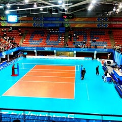 Photo taken at Complejo Panamericano de Voleibol by spranks on 10/19/2011