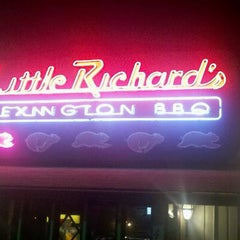 Photo taken at Little Richard's Lexington BBQ by Andy K. on 11/27/2011