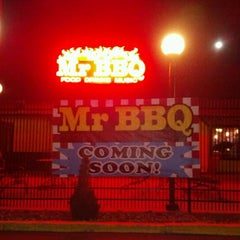 Photo taken at Mr. BBQ by Jasmine R. on 2/9/2012
