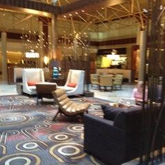 Photo taken at Renaissance Washington, DC Downtown Hotel by Vanessa I. on 3/10/2012
