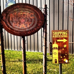 Photo taken at Magic Hat Brewing Company by Jesse R. on 4/11/2012