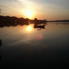 Photo taken at Lower Seletar Reservoir Park by Horacio M. on 4/2/2011