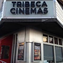 Photo taken at Tribeca Cinemas by Dave B. on 2/9/2012