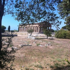 Photo taken at Area Archeologica di Paestum by Cri F. on 9/11/2011