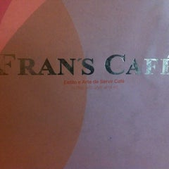 Photo taken at Fran's Café by André R. on 12/13/2011