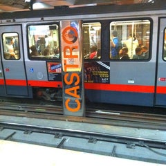 Photo taken at Castro MUNI Metro Station by Rosemarie M. on 6/20/2012