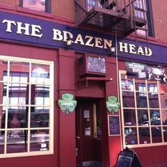 Photo taken at The Brazen Head by John K. on 3/14/2012