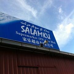 Photo taken at Pasaraya Salamku by Wan Mohd Shahridhan on 10/1/2011