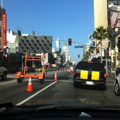 Photo taken at Hollywood Boulevard by Lauren U. on 6/12/2012
