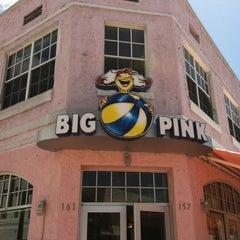 Photo taken at Big Pink by Ryan R. on 4/8/2012