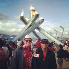Photo taken at Jack Poole Plaza by Dennis H. on 7/2/2012