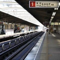 Photo taken at 西中島南方駅 (Nishinakajima-Minamigata Sta.) (M14) by ゆきのぶ on 2/15/2011