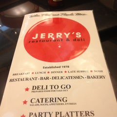 Photo taken at Jerry's Famous Deli by Tye J. on 4/23/2012
