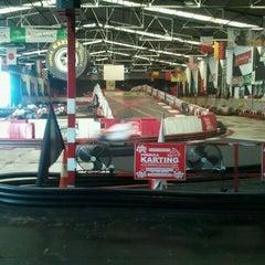 Photo taken at Fórmula Karting Granada by David C. on 10/15/2011