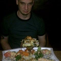 Photo taken at Way Sushi & Teppanyaki by Kyle O. on 2/5/2012