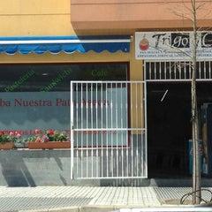 Photo taken at Trigo Y Café by Clara N. on 4/12/2012