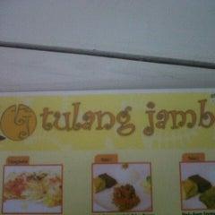 Photo taken at Tulang Jambal by adhika p. on 8/13/2012