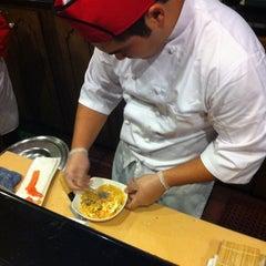 Photo taken at Fujiyama Steak House of Japan by Jason C. on 9/18/2011