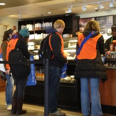 Photo taken at Starbucks by Laura S. on 11/6/2011