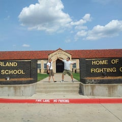 Photo taken at Garland High School by uTINGme on 8/17/2012