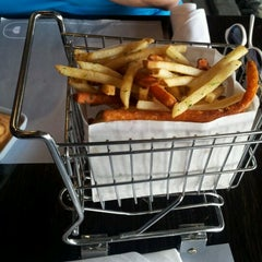 Photo taken at Delux Burger by Judd S. on 6/2/2012