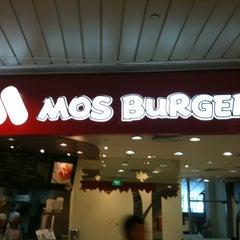 Photo taken at MOS Burger by Sarah C. on 8/13/2012