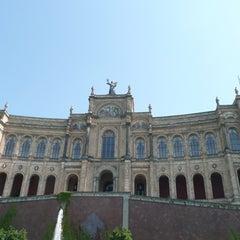 Photo taken at Bayerischer Landtag by Martin K. on 1/5/2011