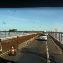 Photo taken at Ponte Hélio Serejo by Edinho E Thayza G. on 2/1/2012