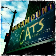 Photo taken at Paramount Theatre by Danielle D. on 4/19/2012