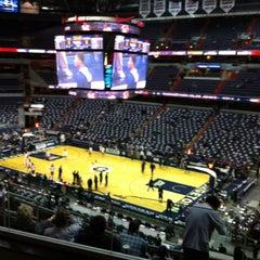 Photo taken at Washington Wizards by Gloria G. on 2/12/2012