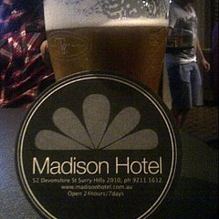 Photo taken at Madison Hotel by Mark R. on 11/26/2011