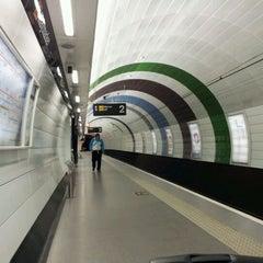 Photo taken at Haymarket Metro Station by Manu E. on 12/21/2011