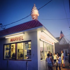 Photo taken at Marvel Ice Cream by John I. on 6/28/2012
