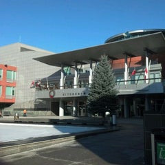 Photo taken at Kitchener City Hall by Chris M. on 12/12/2011