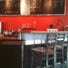Photo taken at SteamDot Espresso & Coffee Lab by Amanda D. on 1/10/2012