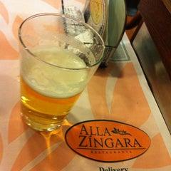 Photo taken at Alla Zíngara Restaurante by Renato V. on 6/22/2012