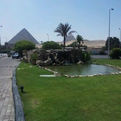 Photo taken at Le Méridien Pyramids Hotel & Spa by Gonca K. on 8/31/2012