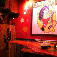 Photo taken at Baja Cafe by Tim K. on 4/3/2012