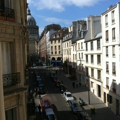 Photo taken at Hôtel Saint-Jacques by Christopher J. on 5/19/2012