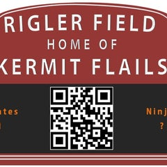 Photo taken at Rigler Field by Jay R. on 4/25/2012