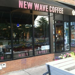 Photo taken at New Wave Coffee by Bill D. on 5/29/2012