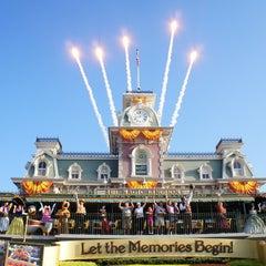 Photo taken at Walt Disney World Railroad - Main Street Station by Da Mouse on 2/2/2012