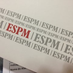 Photo taken at Escola Superior de Propaganda e Marketing (ESPM) by Julia B. on 8/17/2012