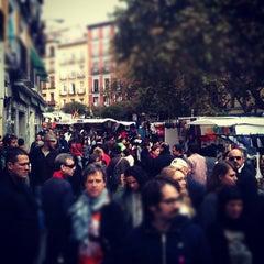 Photo taken at Rastro de Madrid by Esteban R. on 11/13/2011