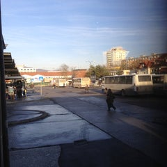Photo taken at Autobusová stanica Nitra by Sandra P. on 1/3/2012