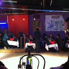 Photo taken at Cachafaz Tango Bar by Cristobal on 8/20/2011